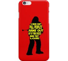 Wookiee:  When they lose iPhone Case/Skin