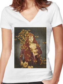 The followers Women's Fitted V-Neck T-Shirt