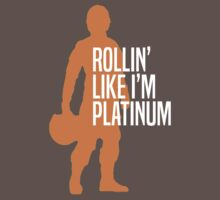 Luke Skywalker - Rollin' Like I'm Platinum One Piece - Short Sleeve