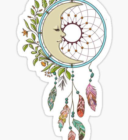 Moon Dreamcatcher Sticker