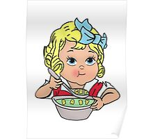 Cry Baby Alphabet Soup Poster