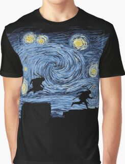 Starry Fight Graphic T-Shirt