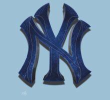 New York Yankees MOS One Piece - Short Sleeve