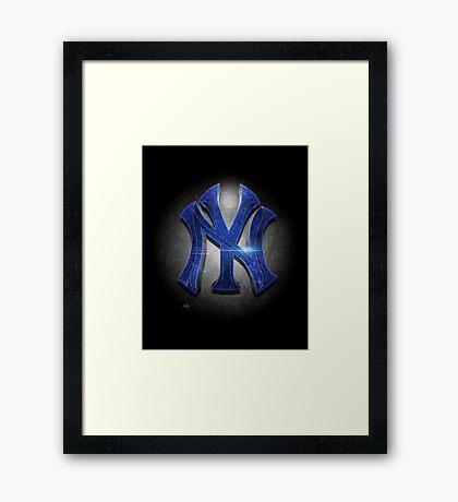 Yankees MOS Framed Print