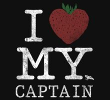 I Love My Captain Kids Tee