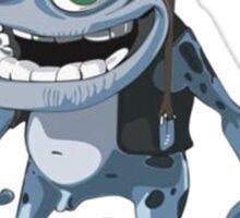 Funny Crazy Frog Sticker