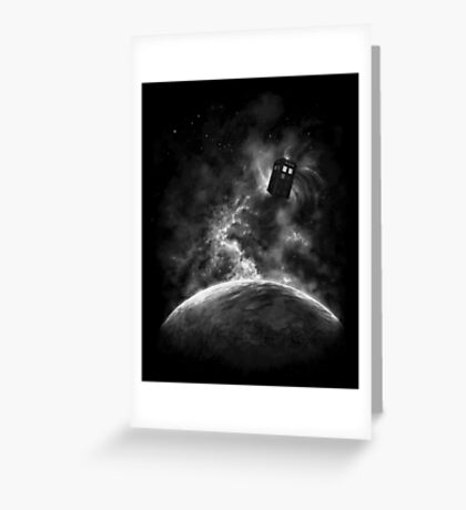 Space and Time Greeting Card