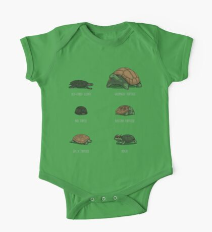 Know Your Turtles One Piece - Short Sleeve