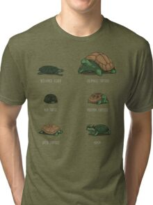 Know Your Turtles Tri-blend T-Shirt