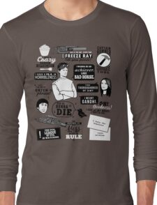 Horrible Quotes Long Sleeve T-Shirt