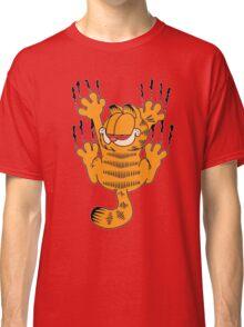 Funny Garfield Scratching Classic T-Shirt