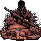Wizard For Hire - STICKER by tyna