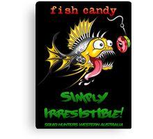 Fish Candy Irresistible Canvas Print
