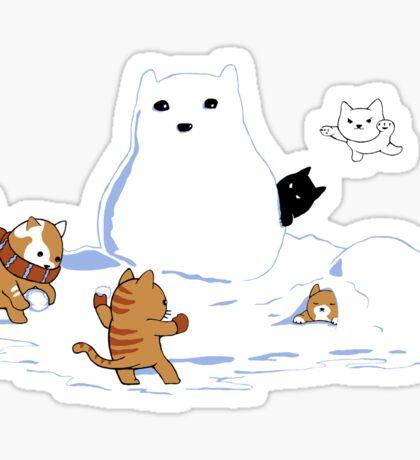 Snowcat STICKER Sticker