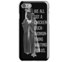 Chicken-Duck-Woman-Thing iPhone Case/Skin