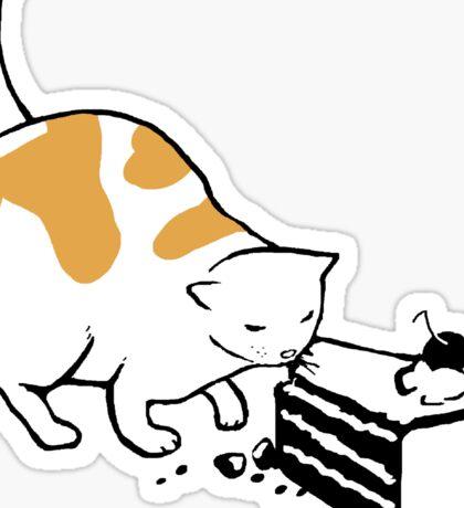 Science Cat STICKER Sticker