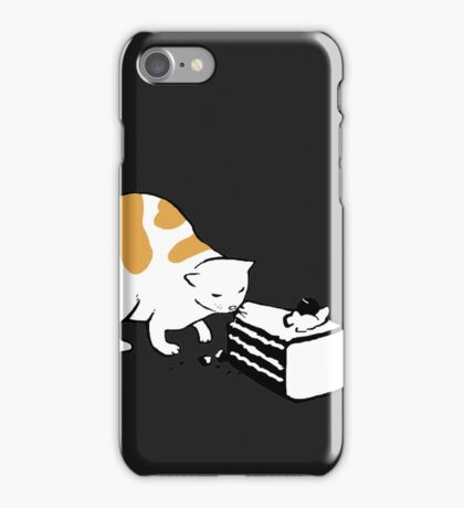 Science Cat STICKER iPhone Case/Skin