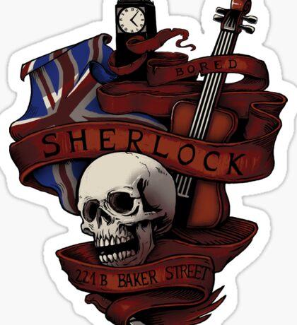 Sherlock Holmes STICKER Sticker