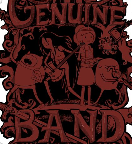 Genuine Band STICKER Sticker