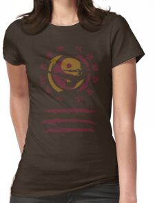 Jeet Kune Do Enter The Dragon - Kung Fu Emblem & Silhouette Womens Fitted T-Shirt