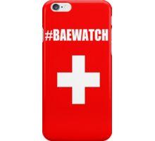 "Lifeguarding Baywatch Parody ""Baewatch"" iPhone Case/Skin"