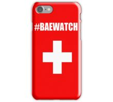 "Lifeguarding Baywatch Parody ""Baewatch"" iPhone Case/Skin"
