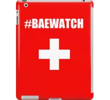"Lifeguarding Baywatch Parody ""Baewatch"" iPad Case/Skin"