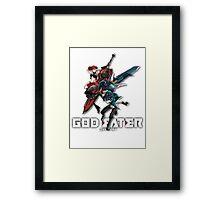 God Eater Anime Icon Framed Print