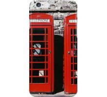 two red doors iPhone Case/Skin
