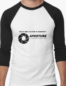 Portal 2 Cave Johnson Quote Men's Baseball ¾ T-Shirt