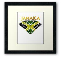 Jamaican Diamond Framed Print