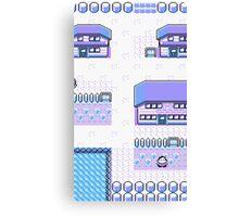 pokemon hometown Canvas Print