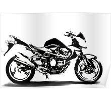 Kawasaki Z-1000 Shadow Poster