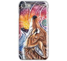 Coyote Tells a Story iPhone Case/Skin