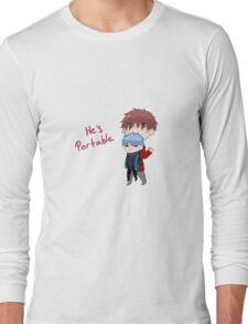 He's portable Long Sleeve T-Shirt