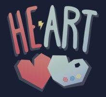 Heart 2 Art One Piece - Long Sleeve