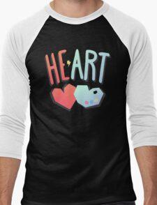 Heart 2 Art Men's Baseball ¾ T-Shirt