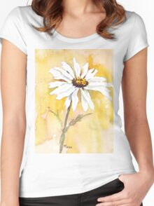 One perfect daisy Women's Fitted Scoop T-Shirt