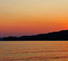Radiant Sunset Sticker