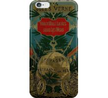 Jules Verne Extraordinary Voyages iPhone Case/Skin