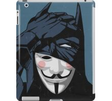 V for Batman iPad Case/Skin