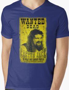 Cactus Jack Poster Mens V-Neck T-Shirt