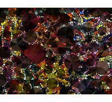 Dots and Facets Photographic Print