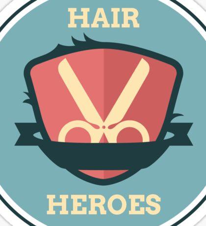 Hair Heroes Emblem Sticker