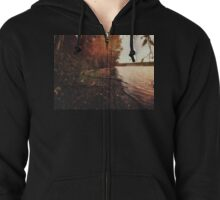 The trees of autumn Zipped Hoodie