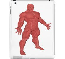 the Muscle Man Medical Model iPad Case/Skin