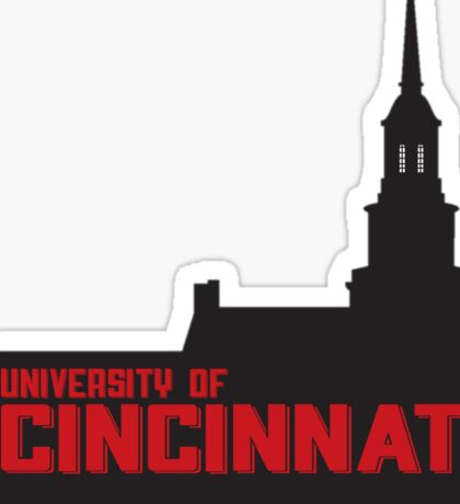 University of Cincinnati Sticker