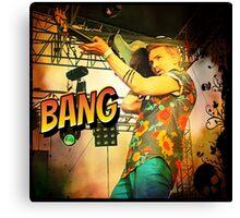 Chap Stique the Zombie Hunter Canvas Print