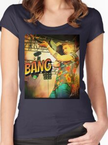 Chap Stique the Zombie Hunter Women's Fitted Scoop T-Shirt