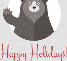 Happy Holidays Sticker
